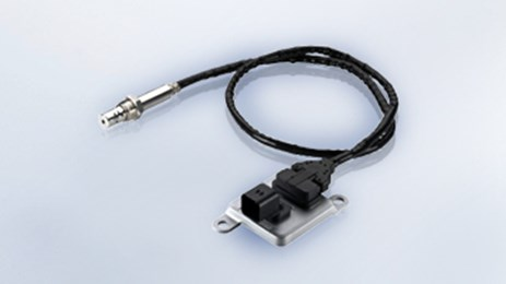 The UniNOx sensor allows closed-loop control to reduce emissions.